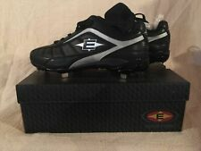 New in Box Men's Easton Assist Classic Low Baseball Cleats Black/Silver #M33378