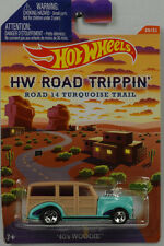 HW ROAD TRIPPIN 14 Turquesa Trail 40`s WOODIE 1:64 HOT WHEELS EE.UU. cbj03