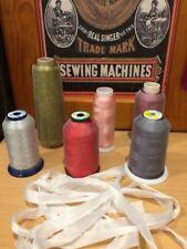 Embroidery Machine Bobbins & Thread