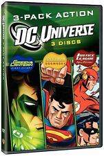 DCU FUN PACK: ACTION (3PC) - DVD - Region 1