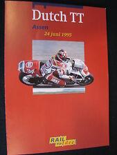Flyer NS (Nederlandse Spoorwegen) TT Motorraces Assen 24 juni 1995  (TTC)