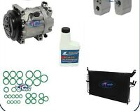A//C Compressor and Condenser Kit Fits Nissan Pathfinder Infiniti JX35 QX60 67671