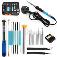 Soldering Iron Kit Electronics Welding Irons Tool Adjustable Temperature 60W Uk