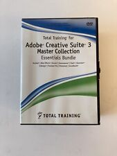More details for total training for adobe creative suite 3 master collection essentials bundle