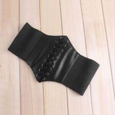 Wide Waist Leather Elastic Fashion Lady Women Waistband Belt Corset Stretch