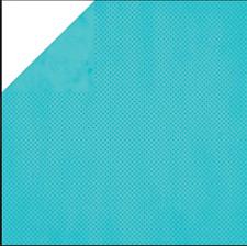 BoBunny 12x12 papel scrapbooking Doble Dot Collection, Trébol Dot X 2 Hojas
