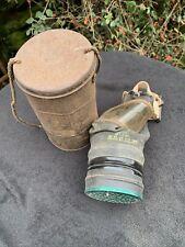 More details for antique world war 2 civillian gas mask ,1937