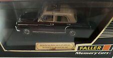 FALLER MEMORY CARS scala 1/43 #4325 MERCEDES BENZ 220S (PONTON)