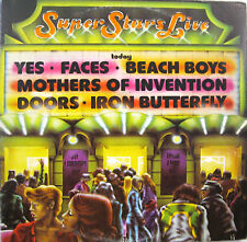 SUPER STARS LIVE 3 lp FRANK ZAPPA YES IRON BUTTERFLY DOORS BEACH BOYS mint