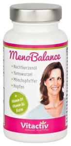 Wechseljahre Kapseln Yamswurzel Meno Balance 100% natürliche Inhaltsstoffe vegan
