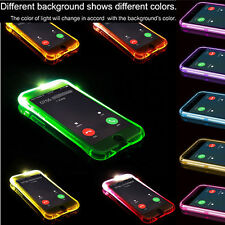 Iphone 6 + / 6S + / 7 + / 8 +  Hülle LED Anruf/Nachricht Flash Case Cover Tasche
