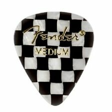 Fender 351 Shape Premium Picks Medium Checker 12 Count