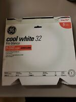 Case of 6 New GE 98040 FC12T9/CW 32W 4100K COOL WHITE CIRCULAR FLUORESCENT LAMP