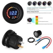 Durable voltmètre douille anti-reverse Court Circuit Protecter pour Voiture Moto