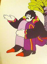 Vintage print KFS-SUBA  Illustration John Lennon Yellow Submarine THE BEATLES