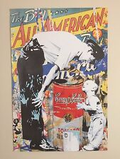 "MR. BRAINWASH "" THE BIG ALL AMERICAN "" ORIGINAL LITHOGRAPH PRINT POSTER"