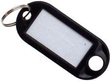 Schlüsselschilder schwarz Schlüsselanhänger Zum Beschriften Black