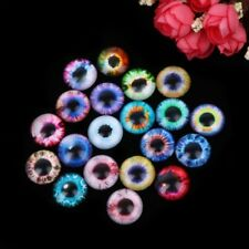 20Pcs Glass Doll Eye DIY Crafts for Toy Dinosaur Animal Eye Time Gem Accessories