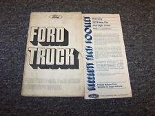 1975 Ford F-100 F-150 F-250 F-350 F-Series Original Owner Operator Manual Set