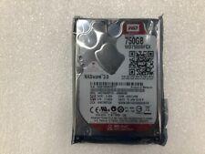 """Western Digital Red 750GB Internal 5400RPM 2.5"""" (WD7500BFCX) NAS"""