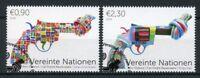 United Nations UN Vienna 2018 CTO Knotted Gun Non-Violence 2v Set Guns Stamps