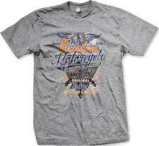 Custom Motorcycle America's Original Brand Fastest Riders Wings Men's T-Shirt