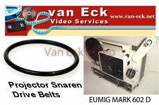Eumig Mark 602 D motor belt (BT-0034-M) - New belt