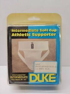 "DUKE Intermediate Soft Cup Athletic Supporter 26-32"" Waist NOS NEW VTG"