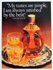 DIMPLE Scotch Whisky advertisement A4 size HQ print