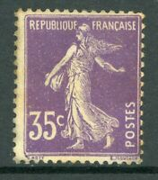 France 1918 Sower 40¢ Violet SG #365a Mint P162 ⭐⭐⭐