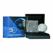 1000 Francs Cameroon 2019 AF - 1 OZ Apollo 11 - Moonlanding 2019