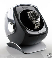 Versa Single Watch Winder for Automatic Mechanicals Black G083 MSRP $129.95