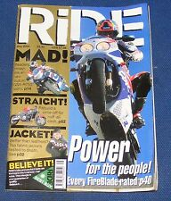 RIDE MAGAZINE MAY 2000 - POWER FOR THE PEOPLE!
