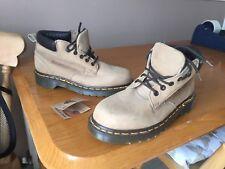 Vintage Dr Martens 8173 beige brown boots UK 5 EU 38 Made in England