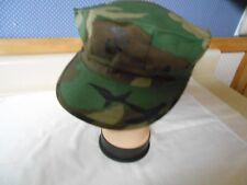 USMC Utility Cap w/ Emblem, Sz. Large (7 1/2), Woodland Camo,