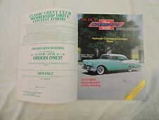 Classic Chevy World - OCTOBER, 1985-  1955 1956 1957 - '56 Sport Coupe on Cover