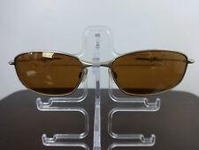 Mens sunglasses Oakley Whisker gold iridium non polarized metal frame