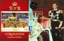 Australia-THAILAND OPT on Coronation minsheet mnh new issue 2013-Royalty