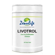 Livotrol 100% Premium Natural Liver Flush & Gall Bladder Cleanser Detox 60 Caps