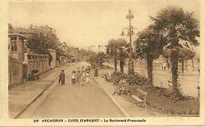 CARTE POSTALE ARCACHON COTE D'ARGENT LE BOULEVARD PROMENADE