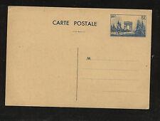 France  postal  card  unused   80 cent      MM0529