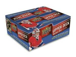 2015-16 UPPER DECK SERIES 1 HOCKEY RETAIL BOX