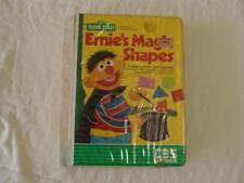 ATARI SOFTWARE Ernie's Magic Shapes, Sesame Street, Cassette for Atari 400/800
