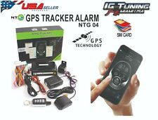 Gps Tracker and alarm System Ntg04 - Security Usa Seller