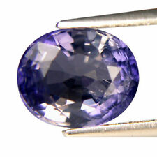 2.02 Ct Outstanding Oval Shape (8.9 X 7.4) Violet Blue Tanzania Iolite Gemstone