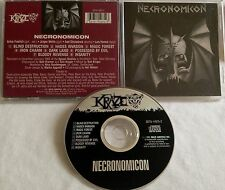 Necronomicon - S/T CD ORG KRAZE exumer venom dream death num skull iron angel