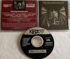 Necronomicon - S/T CD ORG KRAZE exumer venom dream death num skull iron angel