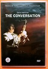 The Conversation Dvd Region 2 Gene Hackman Harrison Ford Cazale Francis Coppola