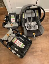 New listing Chicco keyfit 30 infant car seat With Two Bases