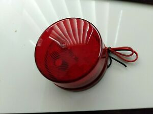 Alarm strobe light Septic ecu alert red strobe